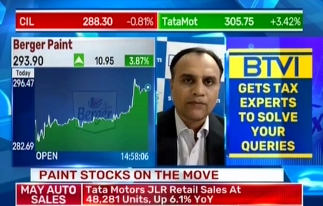 View on Asian Paints Ltd, and Berger Paints Ltd : StockAxis